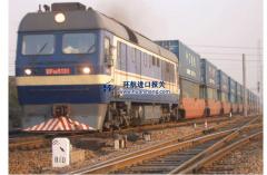 从德国铁路运输到中国进口beplay官网体育路线。