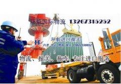 日本旧机器人进口到中国大陆如何的关